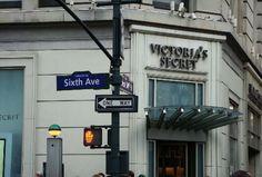 Victoria's Secret Store. 6th Ave. New York.
