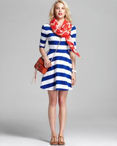 FRENCH CONNECTION Dress, DIANE von FURSTENBERG Scarf & more | Bloomingdale's