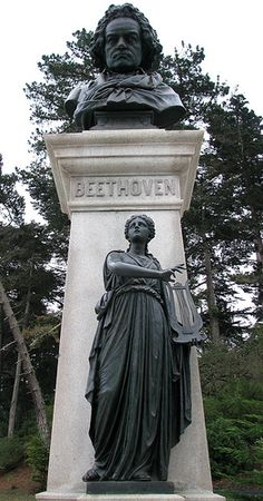 Beethoven Satue in Golden Gate Park, San Francisco CA