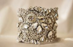 Looking for bridal bling? How about a statement cuff? Click through 20 great @Etsy finds.