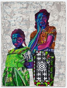 Bisa Butler: Portraits | The Art Institute of Chicago African American Artist, American Artists, Brooklyn, The Caged Bird Sings, Black Figure, American Quilt, Colossal Art, Contemporary Quilts, Contemporary Artists