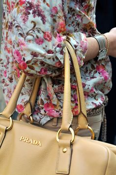Spring & Prada ... who could ask for anything more?