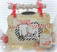 memory file « Heidi Swapp - best holiday card holder I've seen yet!