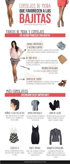 Si eres de estatura baja, sigue estos tips de moda para lucir mejor. Vía: secretosdechicas.es