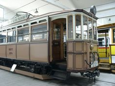 We have some beautiful old trams like this in Belgium.