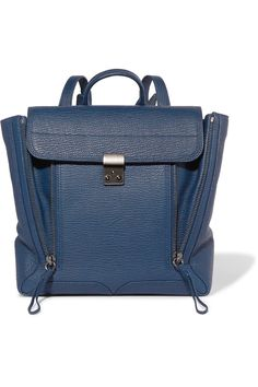 3.1 PHILLIP LIM Pashli textured-leather backpack. #3.1philliplim #bags #leather #backpacks #
