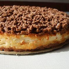 Strouhaný tvarohový koláč špaldová mouka