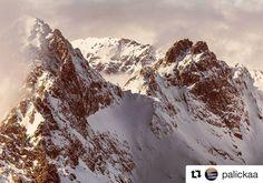 Naše Tatry...  krásne #praveslovenske od @palickaa  #tatry #slovensko #slovakia #mountains #tatramountains #rocks #peak #snow #winter #hiking #nature #landscape