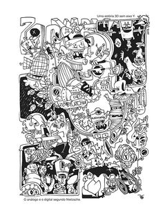 Book. A Cidade dos Mortos Vivos - Dogzilla Studio - Curitiba - BRA 2013