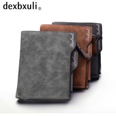 Good Weduoduo Rfid Card Holder Men Wallets Money Bag Male Vintage Credit Card Holder 2019 Small Leather Smart Wallets Mini Wallets Large Assortment Back To Search Resultsluggage & Bags