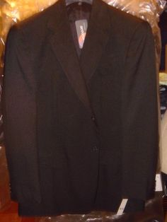 Doc & Amelia Black Blazer Jacket Aerocool 2 Button Comfort Size 42 Reg New Tags  #DocAmelia #TwoButton