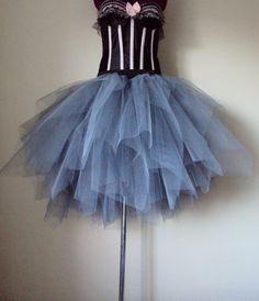 Stunning Grey TuTu skirt size small U.S. 4  10  by thetutustoreuk, $99.00