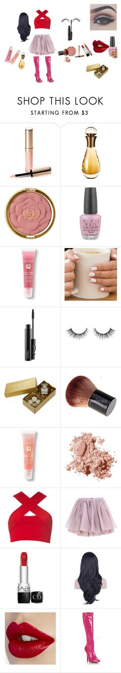 """Paige Matthews"" by rellabella-1 ❤ liked on Polyvore featuring By Terry, Christian Dior, Milani, OPI, Lancôme, MAC Cosmetics, Bellezza, Jardins D'EDEN, Bobbi Brown Cosmetics and Motel"