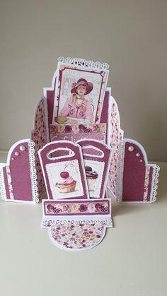 Fun Fold Cards, Folded Cards, Scrap, Fancy, Album, Inspiration, Studio, Cake, Design