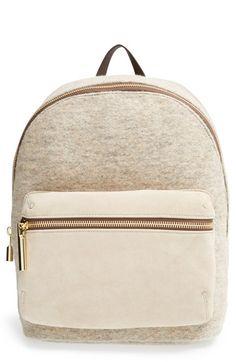 @nordstrom elizabeth and james cynnie suede and wool backpack. #nordstrom