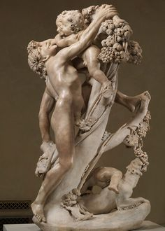 Gian Lorenzo Bernini (Italian, 1598–1680) and Pietro Bernini (Italian, 1562–1629). Bacchanal: A Faun Teased by Children, ca. 1616–17. The Metropolitan Museum of Art, New York. Purchase, The Annenberg Fund Inc. Gift, Fletcher, Rogers, and Louis V. Bell Funds, and Gift of J. Pierpont Morgan, by exchange, 1976 (1976.92) #MetViewpoints