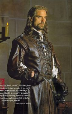 The Man in the Iron Mask (1998) Jeremy Irons as Aramis #CostumeDesign: James Acheson