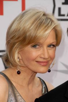 short hairstyle with bangs for women over 60