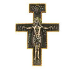 San Damiano Bronzed Crucifix, 11x16