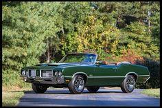 1972 Oldsmobile 442 Convertible 455 CI, Automatic  #Mecum #Chicago