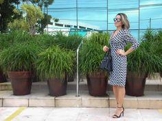 The Leila's Blog: Wrap Dress - Vestido Envelope