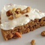 Protein Packed Carrot Cake.....And a Guest Post!