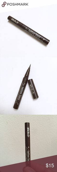 NEW Kat von d mad Max Brown tattoo eyeliner Unused sample size of Kat Von Ds brown liquid eyeliner in mad max. No trade Kat Von D Makeup Eyeliner