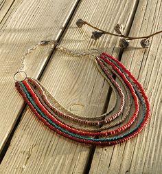 Makena.  Woven Beads Jewelry