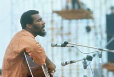 Richie Havens  Inspiration for design Power Flower: Line Up   Woodstock