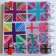 Paperchase's London series leading up to 2012 Olympics https://www.paperchase.co.uk/ #print #stationery #souvenirs #union_jack #design