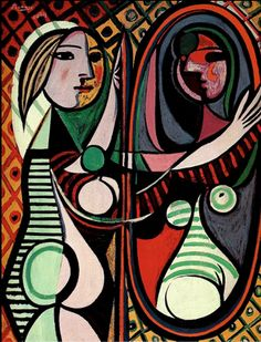 Pablo Picasso Girl before a mirror 1935 oil on canvas 81 x 56cms