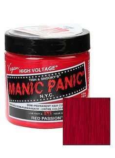 Hot Topic : Manic Panic Red Passion Classic Cream Hair Dye
