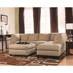 Fusion Khaki Left Facing Chaise Sectional, /index.php/category/living-room/fusion-khaki-left-facing-chaise-sectional. 2 Piece Sectional Sofa, Leather Sectional Sofas, Fabric Sectional, Comfy Sectional, White Sectional, Small Sectional, Design Living Room, My Living Room, Houses