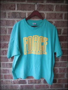 Vintage 90's Nike Air Force Shirt  Size XL by CharchaicVintage, $16.00