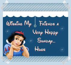 Happy Sunday everyone :)