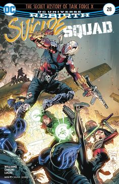 SUICIDE SQUAD #28 (2017) Comics Online, Dc Comics, Jared Leto Joker, Captain Boomerang, Margot Robbie Harley Quinn, Deadshot, The Secret History, Dc Characters, Meet The Team