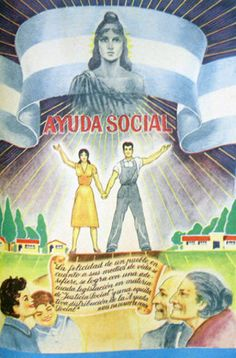 """Mundo Peronista"" en afiches y más (1946 - 1955) - Imág... en Taringa! Baseball Cards, Sports, Movie Posters, Dani, Google, Grande, Stamps, Socialism, World"
