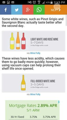 How long to keep wine