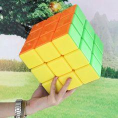 Amazon.com: Formulatoys Large Cube 3x3x3 180mm Magic Puzzle Toy Colorful: Toys & Games