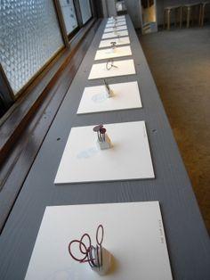 [ +Ladder ] Liisa Hashimoto Art Jewelry Exhibition #JewelryDisplays