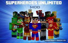 Superheroes Unlimited [1.7.10] [1.6.4] / Моды для Майнкрафт / Minecraft Inside