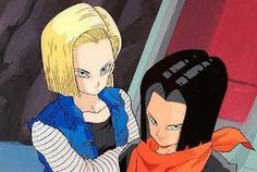 In a special Q&A section in the book, Toriyama revealed that Android 17′s human name was Lapis, while Android 18′s name was Lazuli.