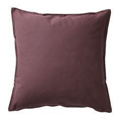 IKEA GURLI Cushion cover Dark brown-red cm The zipper makes the cover easy to remove. Large Sofa Cushions, Cushions Ikea, Couch Cushion Covers, Velvet Cushions, Striped Sofa, Diy Couch, Vintage Sofa, Online Furniture, Sofa Furniture