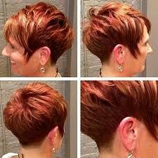 bright red haircuts photos - Google Search