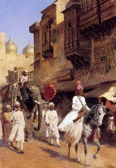 Edwin Lord Weeks, Indian Prince and Parade Company