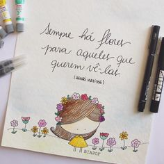 Sempre há flores