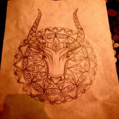 Roses are red / Violets are blue / Taurus in a mandala / That's all I have to say