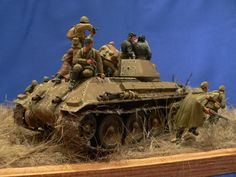 Dioramas and Vignettes: Soviet tank riders, photo #6