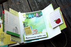 Светлана VasilisaV: Школьный альбом для Питерского скрапклуба