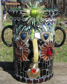 By Janet Althoff- great idea for a garden planter